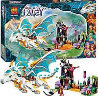 """Конструктор Bela Fairy 10550 (Аналог Lego Elves 41179)  """"Спасение Королевы Драконов"""" 841 деталь, фото 1"""