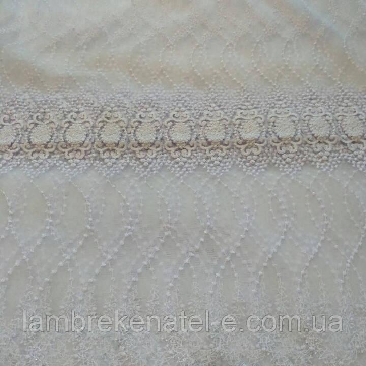 Фатин с вышивкой 4 ряда