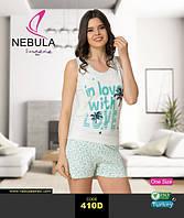 NEBULA Майка+шорты 410D