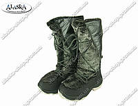 Женские сапоги черные (Код: ЖББ-60), фото 1