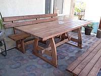Стол с лавками, фото 1