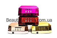 """Лампа гибридная для сушки ногтей CCFL+LED 36 ВТ, """"ХРОМ"""", с сенсорным датчиком, фото 1"""