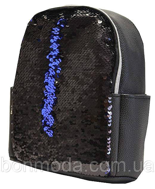 Рюкзак женский с двусторонними пайетками  продажа, цена в Запорожье ... 82900ac9c17