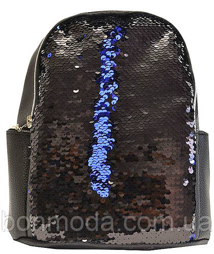 Рюкзак женский с двусторонними пайетками  продажа, цена в Запорожье. рюкзаки  городские и спортивные от