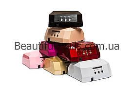 Лампа гибрид для сушки ногтей CCFL+LED DIAMOND, цвета в ассортименте