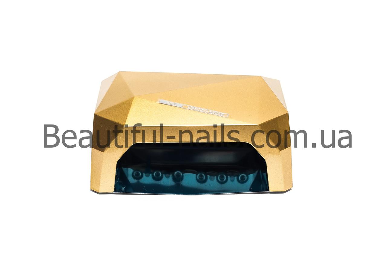 Лампа гибридная для сушки ногтей CCFL+LED DIAMOND, цвета в ассортименте