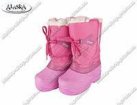 Женские дутики розовые (Код: ЖББ-70)