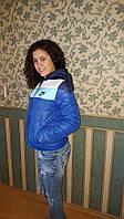 """Женская куртка """"NIKE"""" на силиконе"""