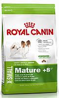 Корм для пожилых собак мини-пород Royal Canin X-Small Mature +8