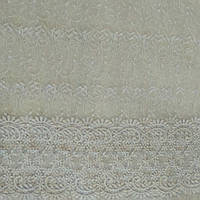 Гардина Фатин белый вензеля, фото 1