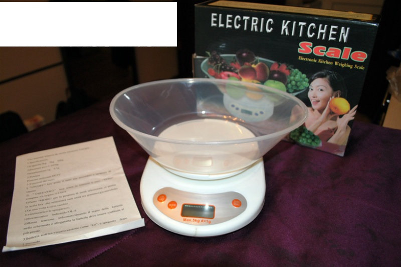 Весы кухонные с чашей  Electric Kitchen Weighing Scale