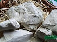 Глина  Зеленая кусковая 1 кг, Мел-ок