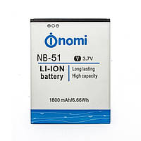 Аккумулятор Nomi NB-51 (i500) Оригинал