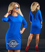 Яркое платье больших размеров - 16694