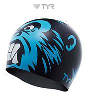 Силиконовая шапочка для плавания TYR Gorilla King, фото 1