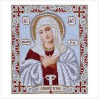 """Схема для вышивки бисером иконы """"Богородица Умиление"""""""