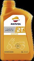 REPSOL Moto Scooter 2T (1л) Моторное масло для 2-х тактных двигателей мото техники синтетическое