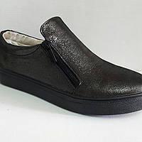 Туфли женские на ровной подошве