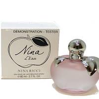 Tester Nina Ricci L Eau edt 80 ml