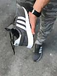 Кроссовки Adidas Iniki Runner grey. Живое фото. Топ качество! (Реплика ААА+), фото 5