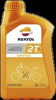 REPSOL Moto Sintetico 2T (1л) Моторное масло для 2-х тактных двигателей мото техники синтетическое