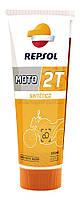 REPSOL Moto Sintetico 2T (125мл) Моторное масло для 2-х тактных двигателей мото техники синтетическое