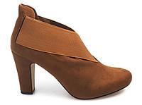 Ботильоны, ботинки женские, бежевые