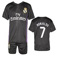 Футбольная форма ФК Реал Мадрид R7 для детей 6-10 лет оптом. Доставка из Одессы.