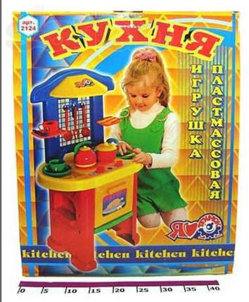 Детская кухня Технок-3 2124 Украина для девочек, фото 2