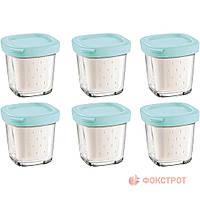 Аксессуары для кухонных приборов TEFAL XF1001 набір стаканів для йогуртів