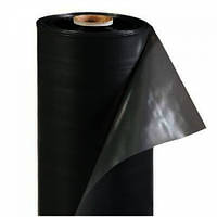 Пленка черная полиэтиленовая 200 мкм ширина 3м/50м