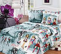 Постельное белье в кроватку бязь Париж