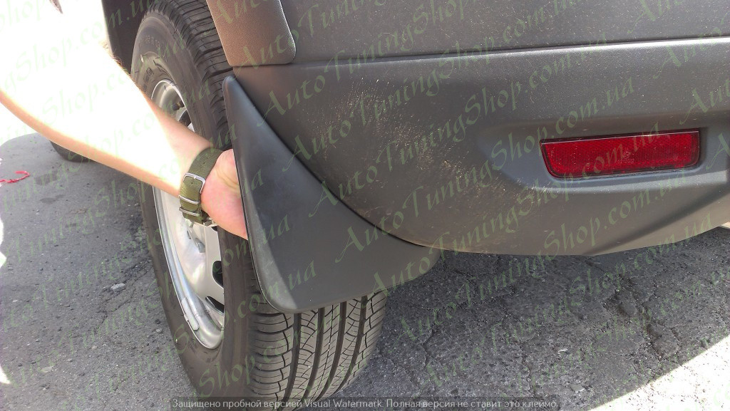 Задние брызговики Renault Duster (2011-2017)