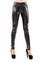 Черные женские леггинсы CR-10125-BLK ТМ Caramella 40-52 размеры