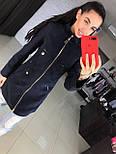 Женское качественное кашемировое пальто на молнии (5 цветов), фото 8