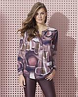 Zaps осінь-зима 2017-2018 блузка KAMISA 015 сливовий