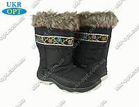 Подростковые сапоги черные (Код: ДББ-01)