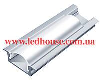 Врезной алюминиевый светодиодный профиль ЛПВ7