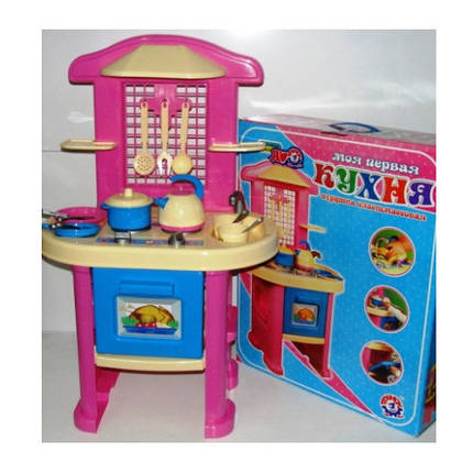 Детская кухня Технок-4 3039 Украина для девочек, фото 2