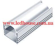 Алюминиевый светодиодный профиль SL-12 + Рассеиватель матовый или прозрачный