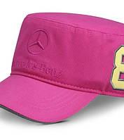 Детская бейсболка для девочек Mercedes-Benz Kid's cap for girls Pink