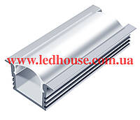 Врезной алюминиевый светодиодный профиль ЛПВ12, фото 1