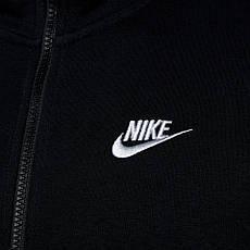 Толстовка Nike M NSW Hoodie FZ FLC club черный оригинал, фото 2