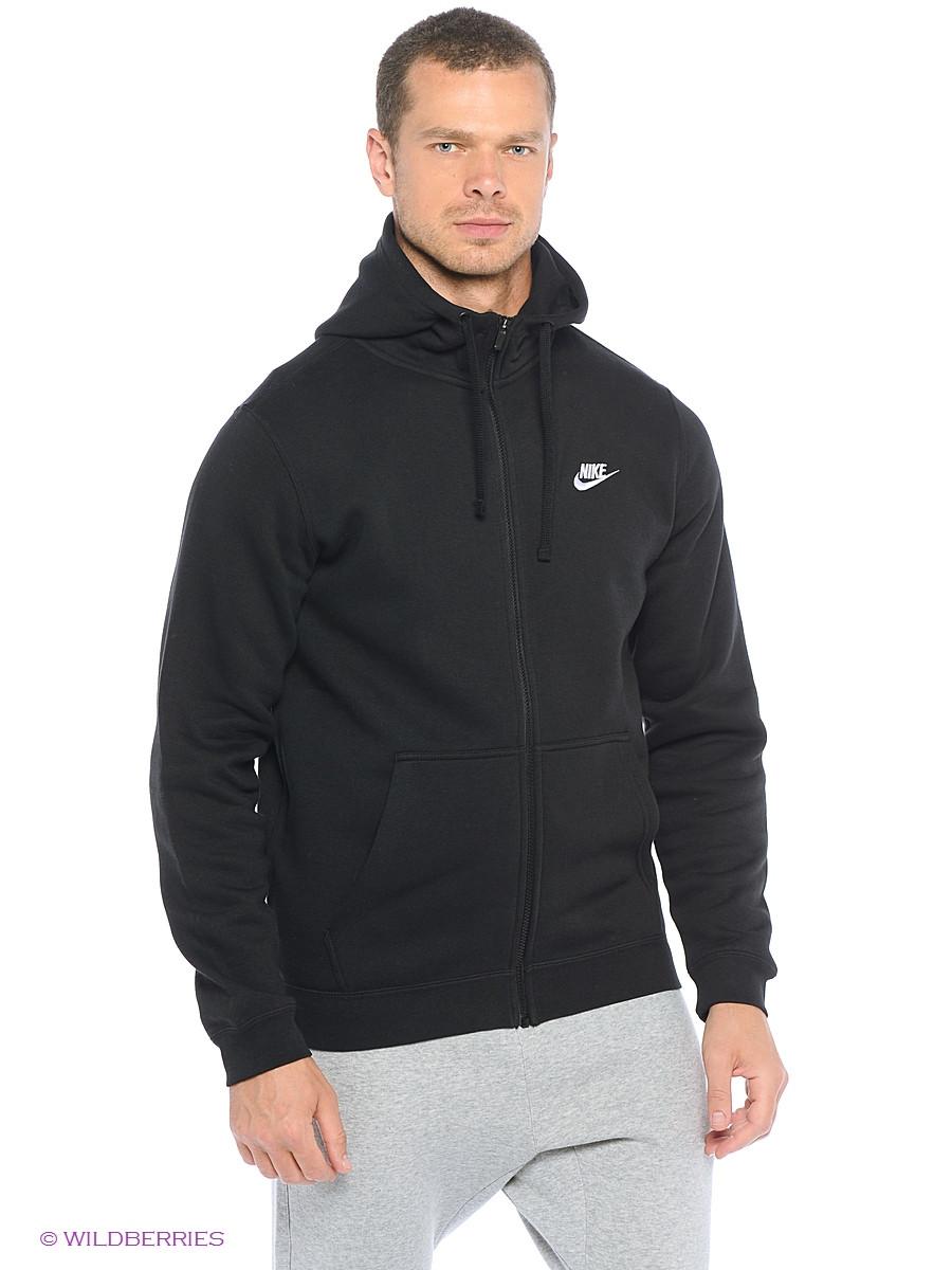 d634264b Толстовка Nike M NSW Hoodie FZ FLC club черный оригинал, цена 1 490 грн.,  купить в Виннице — Prom.ua (ID#575873735)