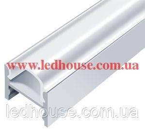 Алюминиевый светодиодный профиль со скрытым креплением ЛПС12