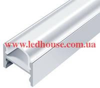 Алюминиевый светодиодный профиль со скрытым креплением ЛПС12, фото 1