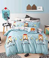 Комплект постельного белья сатин-фотопринт Сладкие сны