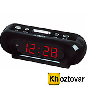 Настольные электронные часы Led Digital Clock VST 716-1 будильник