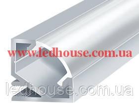 Угловой LED алюминиевый профиль ЛПУ-17