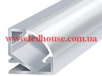Угловой LED алюминиевый профиль ЛПУ-17, фото 1